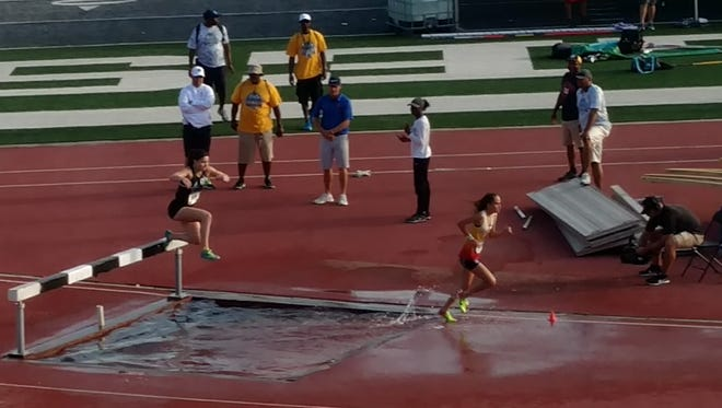 Brighton's Maddie Brown was an All-American in the 2,000-meter steeplechase and the 3,000-meter run at the 2017 AAU Junior Olympic Games.