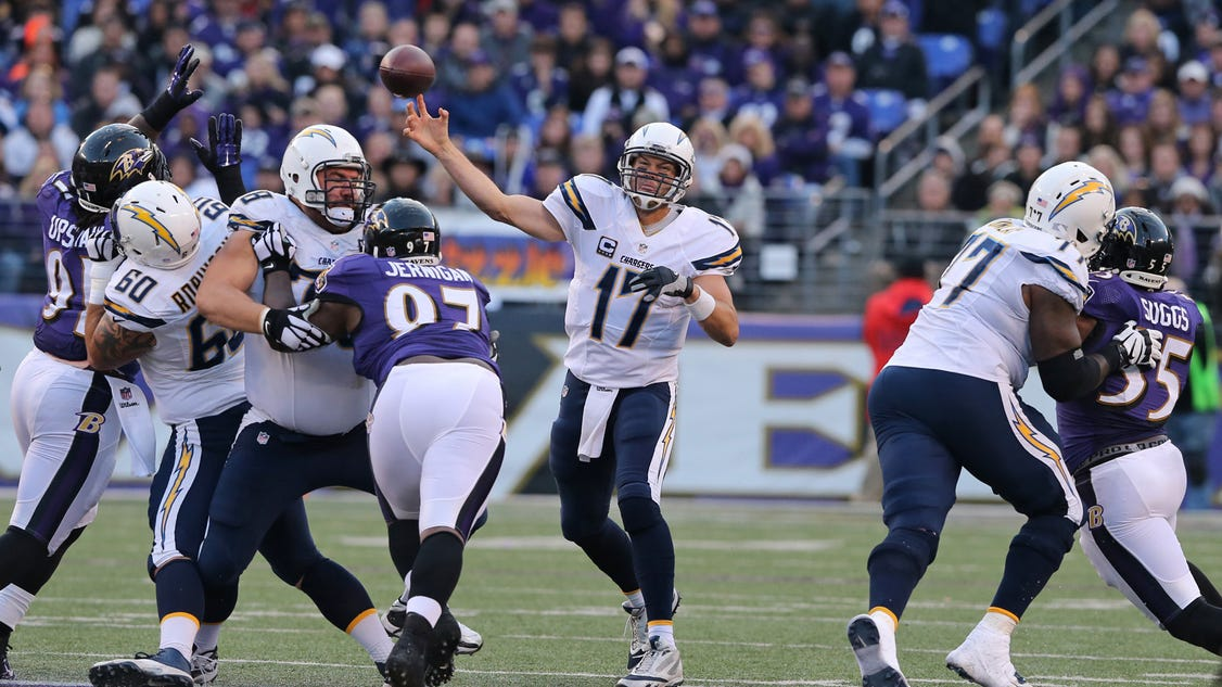 Nfl Roundup Philip Rivers Leads Chargers Comeback Over