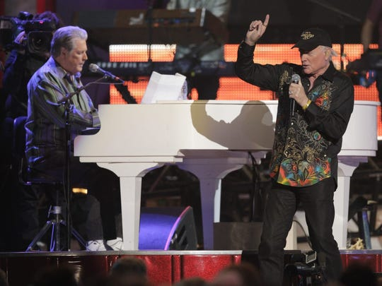 The Beach boys perform at Grand Canyon University on July 7, 2012.