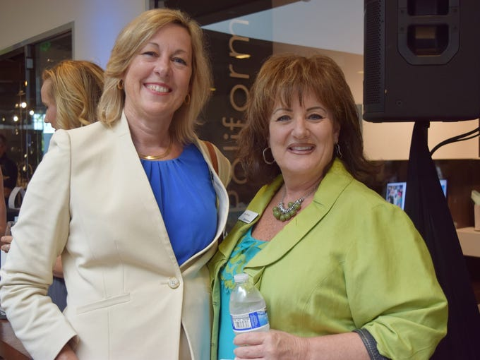 Debbie Layer, Lisa Portnoy from Bank Unite. Smart Party