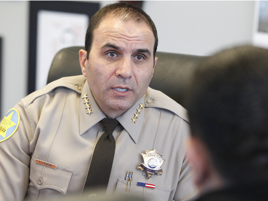 Paul Penzone, alguacil del condado Maricopa.