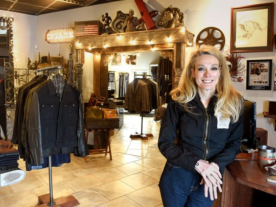 Celebrity stylist Trish Townsend owns boutique Townsend