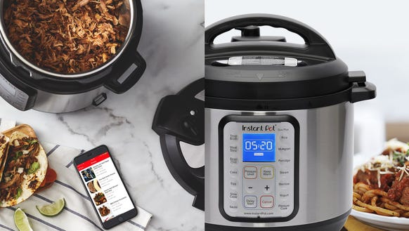The popular Instant Pot with even more features.