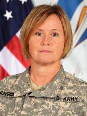 Col Cindy Haygood