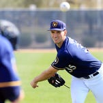 Notes: Brewers option reliever Brent Suter to minor-league camp