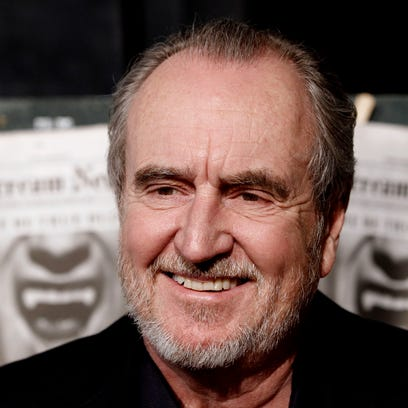Wes Craven arrives at the Scream Awards on Oct. 16,