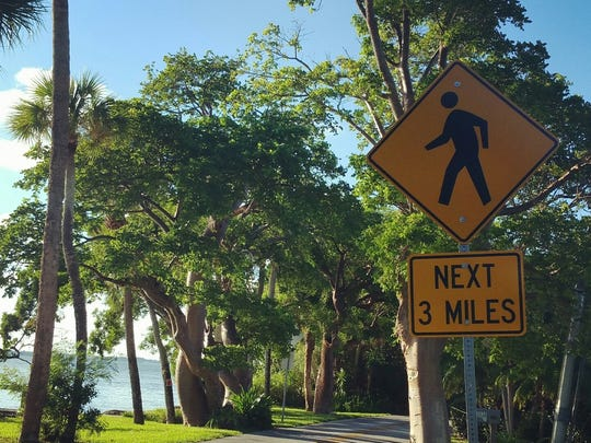 Tropical Trail on Merritt Island is a great place for a brisk walk.