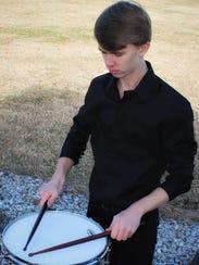 Hunter Wirt (junior), percussion.
