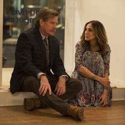 Thomas Haden Church, left, and Sarah Jessica Parker star in HBO's 'Divorce.'