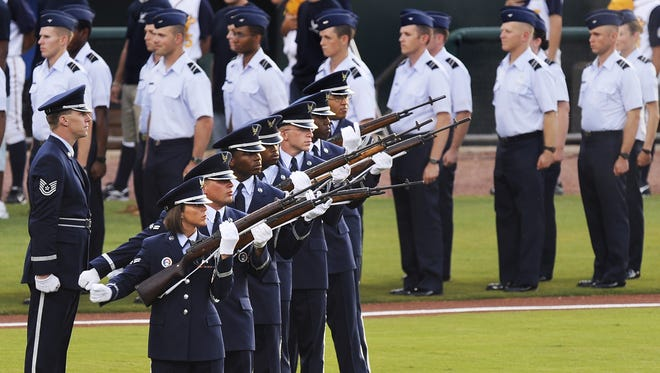 The Montgomery Biscuits will use their Opening Weekend on April 6 to pay tribute to Maxwell Air Force Base's 100th anniversary.