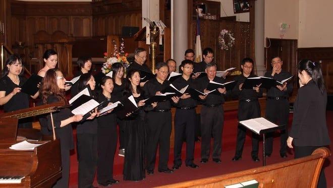 Taiwanese Choral Society to perform May 7