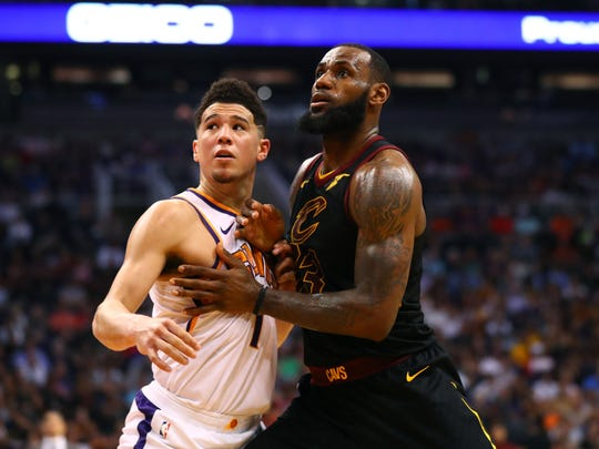 Devin Booker will be teammates with LeBron James ...