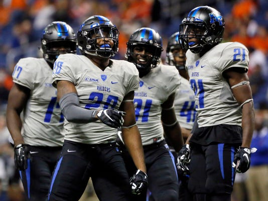 NCAA Football: Middle Tennessee at Texas-San Antonio