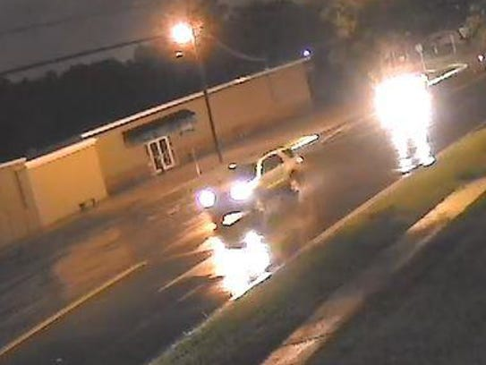 Pensacola police are looking for the drivers of two