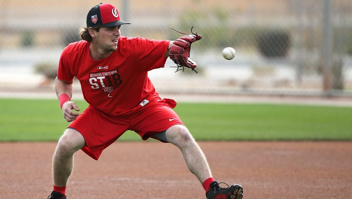 Cincinnati Reds second baseman Scooter Gennett (4)
