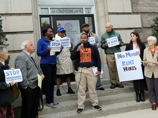 Ossining rent stabilization rally