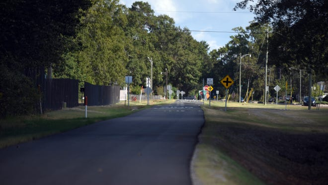 The new 2-mile addition of the Longleaf Trace running to downtown Hattiesburg is in the process of getting lights.