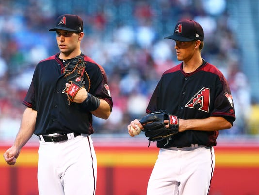 MLB: Cleveland Indians at Arizona Diamondbacks