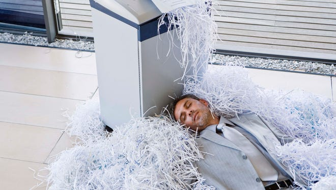 Once you no longer need those documents, shred them.