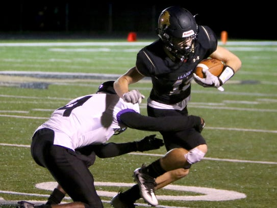 Nolan Jessup helped top-ranked Franklin cruise to victory
