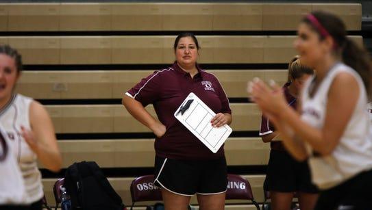 John Jay East Fishkill plays Ossining in girls volleyball