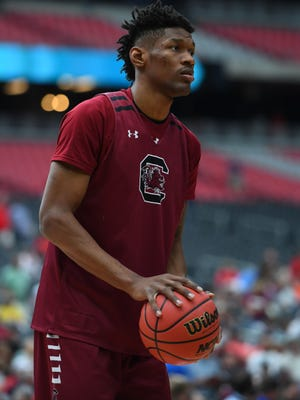 Chris Silva will play a bigger role in the USC basketball family during the 2017-18 season.