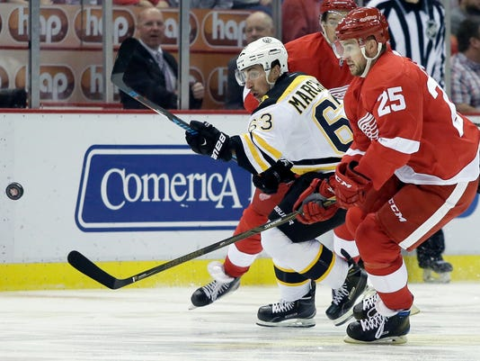 Brad Marchand, Mike Green