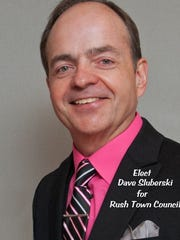 Sluberski is running for Town of Rush council