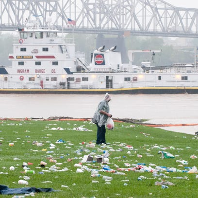 The morning after Thunder Over Louisville, Wayside