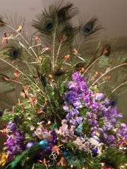 The 30th Anniversary of Yuletide at Winterthur with several holiday trees including the specialty dried flowers.The 30th Anniversary of the Dried Flower Tree at Yuletide at Winterthur Museum is now open for holiday visitors.