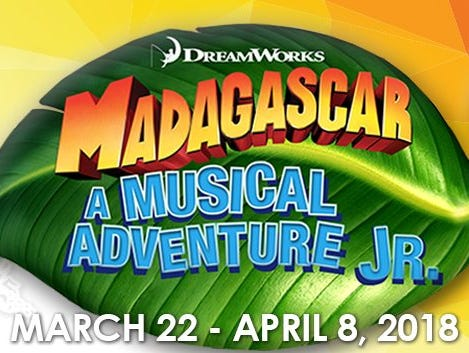 Win tickets to see Madagascar Jr.!  Enter 2/15-3/13