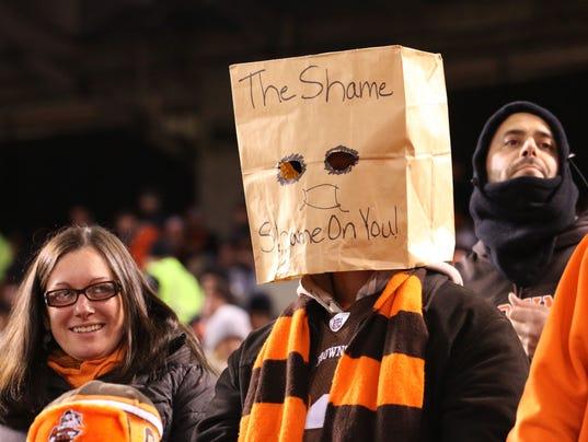 USP NFL: BALTIMORE RAVENS AT CLEVELAND BROWNS S FBN USA OH