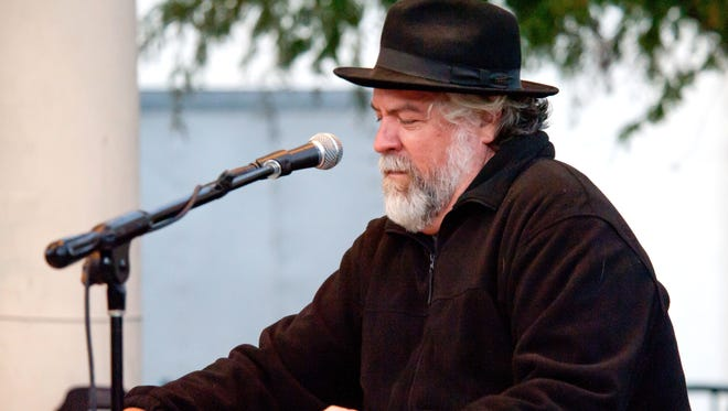 David Egan performs with Lil Band O' Gold at Downtown Alive in 2010.