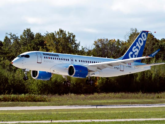 AP CANADA BOMBARDIER CSERIES I CAN