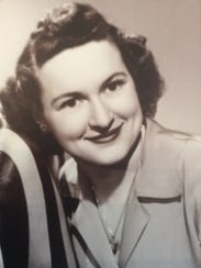Margaret Gordon, circa 1950s.