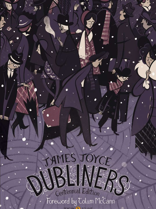 Best Book Cover Illustrations ~ James joyce s dubliners celebrates th anniversary