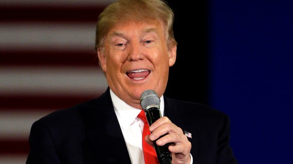 In this March 30, 2016, file photo, Republican presidential
