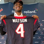 Deshaun Watson could start right away, but other drafted QBs expected to wait