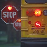 School and law enforcement officials are reminding motorists to watch out for school buses and stop when you see their yellow and red lights.