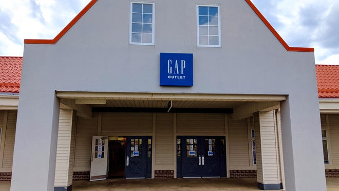 Gap Outlet in Holland Town Center will remain open until Wednesday, Sept. 2.