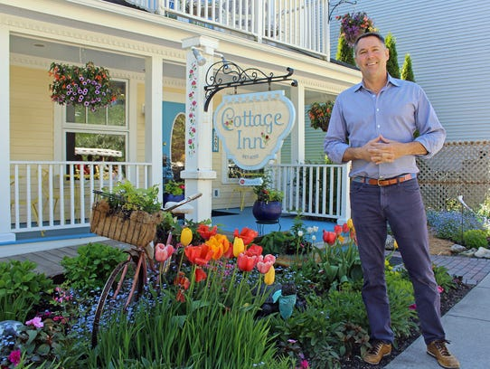 Bob Benser wears many hats on Mackinac Island, including
