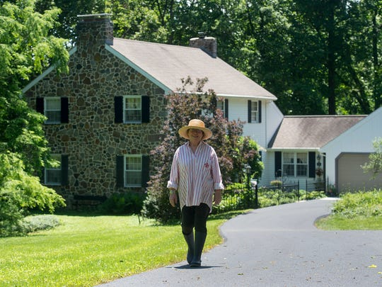 Patricia Longenecker is shown at her home in West Donegal Township, Lancaster County.