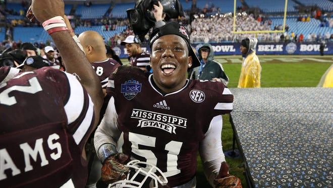 Kelan Chairs earned a scholarship at Mississippi State on Tuesday.