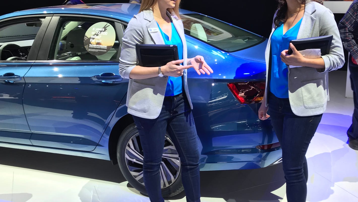 Time's up in 2018 for those old, objectifying stereotypes of Detroit auto show models