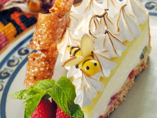 Lemon-lime sour cream meringue pie from Tonto Bar &