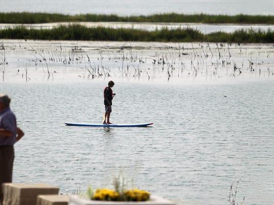 Iowa city paddleboarder