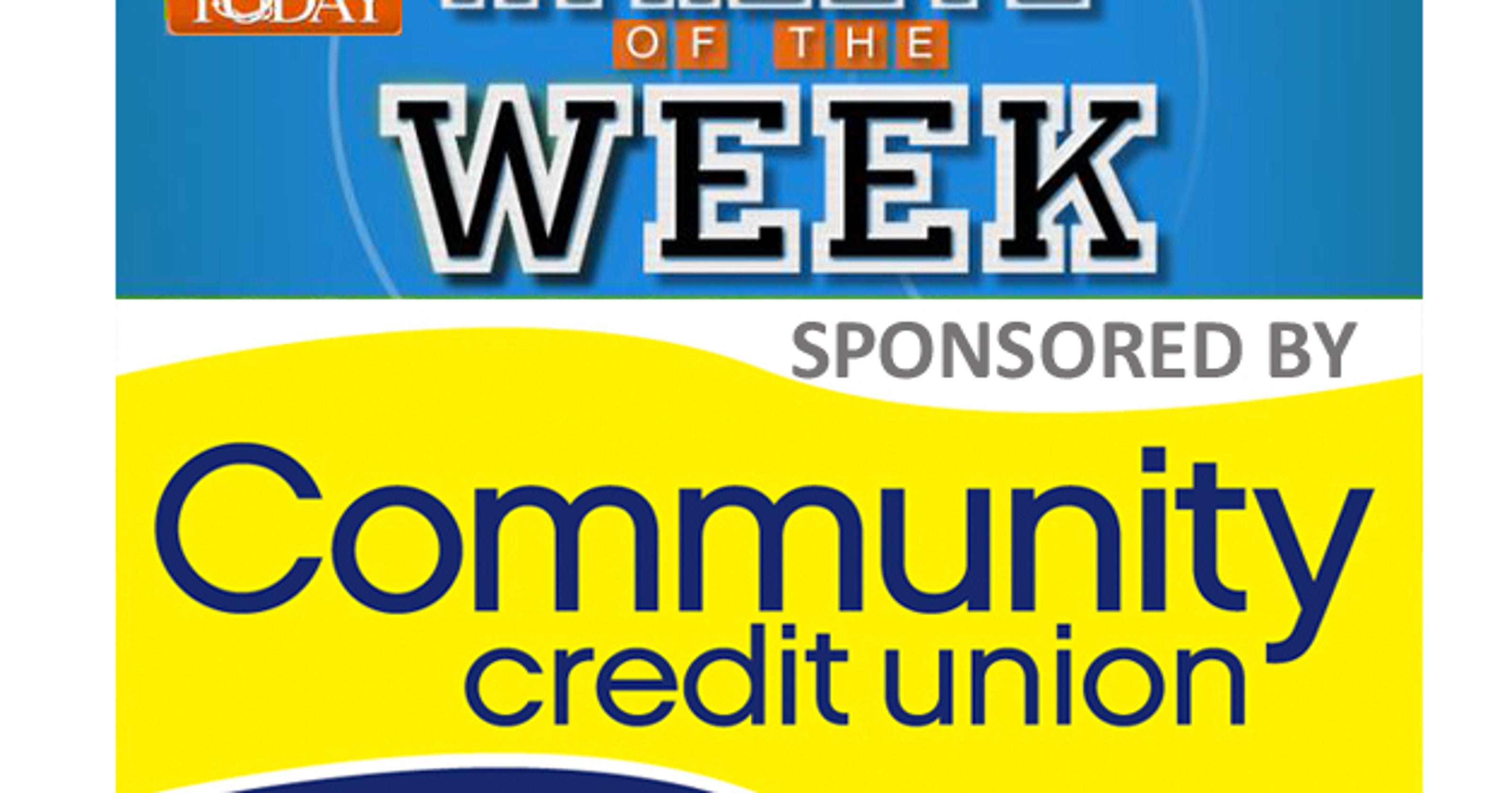 Vote For The Community Credit Union Florida Today Athlete Of The Week