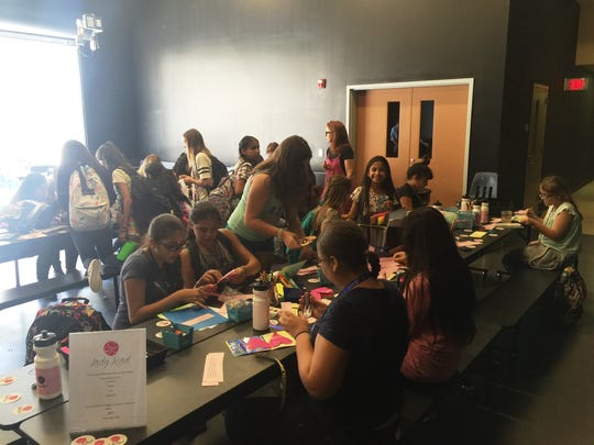 Lady Lead, a middle school program aimed at girls, is more popular than organizers initially expected.