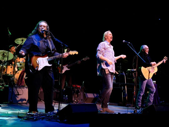 Lou Pucci, Bill Kelly and Phil Bertolo of CSN Songs
