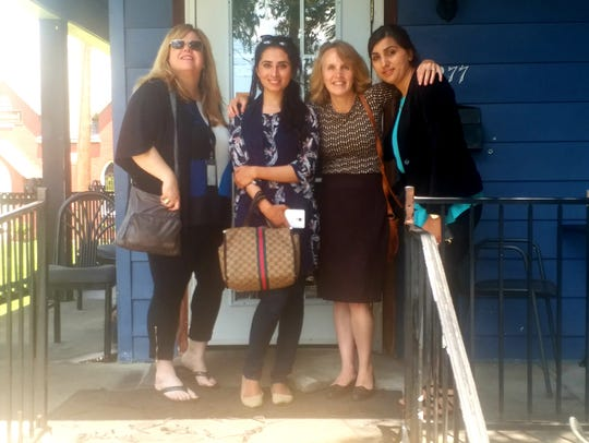 Beth Warren (from left), Amber Javed, Laura Ungar and